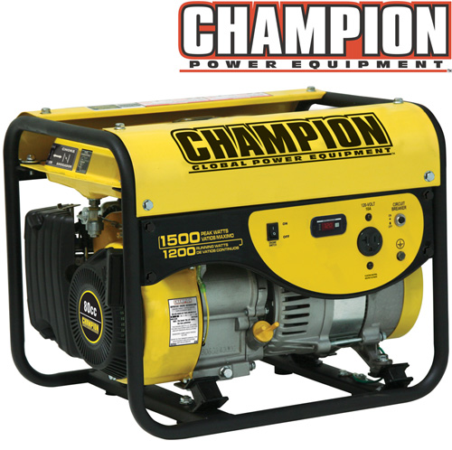 Champion® 1200/1500 Watt Generator