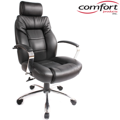 'Commodore II Oversize Leather Chair'