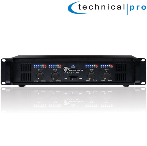'Pro 4CH Power Amplifier'