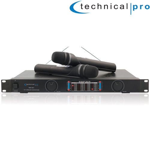 'Pro VHF Wireless Mic System'
