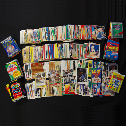 '4 Decades of Baseball Cards'