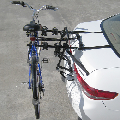 'Advantage SportsRack Trunk Rack 3 Bike Carrier'