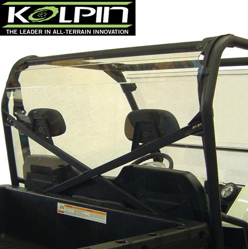 Rear Shield / Back Panel Combo