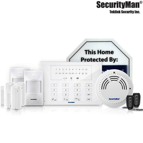 'Deluxe Wireless Smart Home Alarm System'
