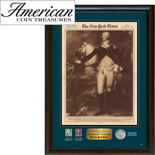 'New York Times George Washington Commemorative'