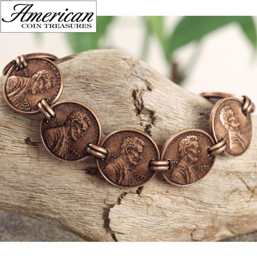 'Copper Penny Bracelet'