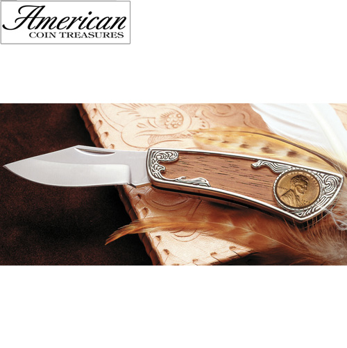'1909 Wheat Penny Pocket Knife'