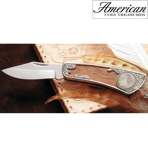 'Liberty Nickel Pocket Knife'