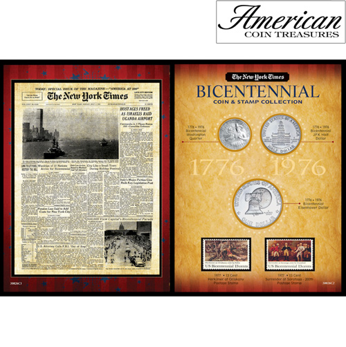 'New York Times Bicentennial Coin Collection'
