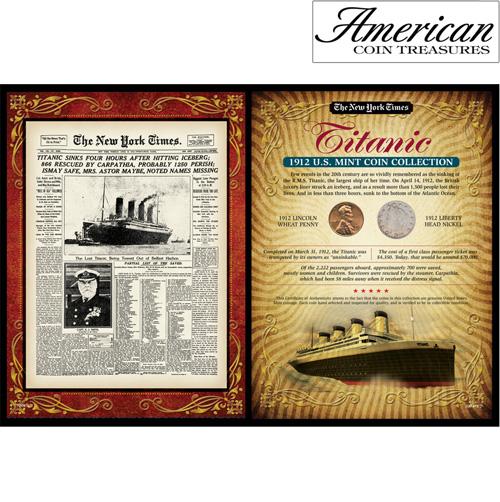 New York Times Titanic Portfolio