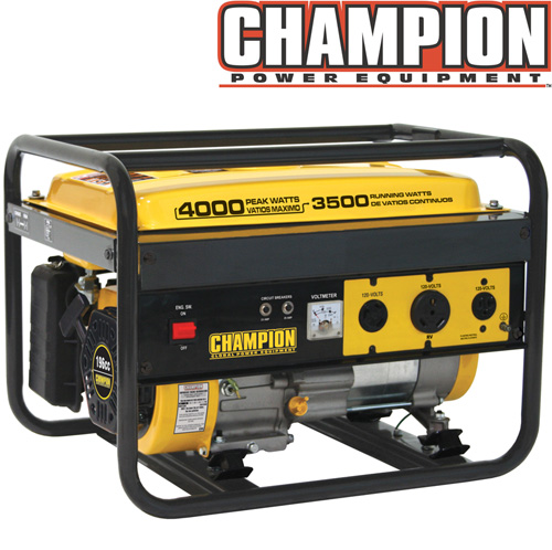 '3500/4000 Watt Portable Gas Generator-CARB'