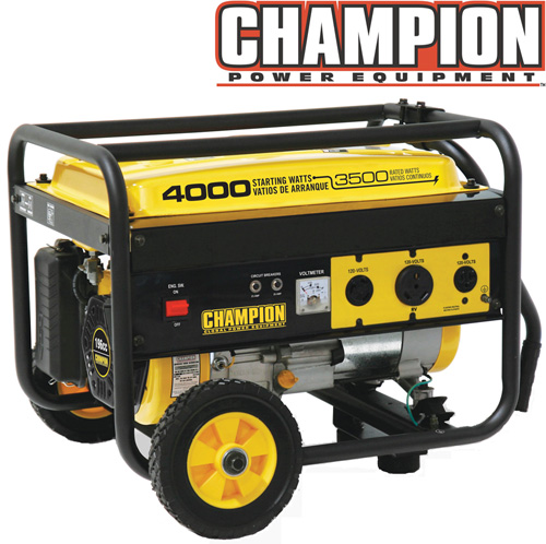 '3500/4000 Watt Generator with Wheel Kit'