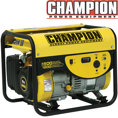 '1200/1500 Watt Portable Gas Generator-CARB'