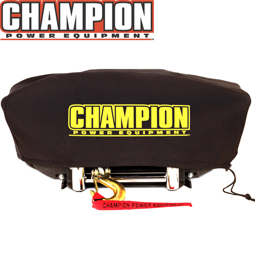 'Custom Made Neoprene Winch Cover'