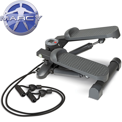 'Marcy Mini-Stepper with Exercise Bands'