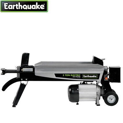 Earthquake® 5-Ton Electric Log Splitter