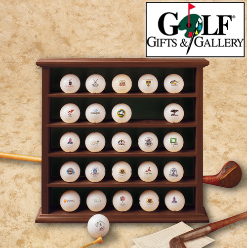 'Golf Ball Display Cabinet'