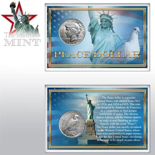 'Peace Silver Dollar'