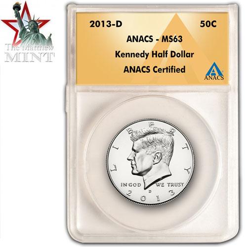 'Kennedy Half Dollar 2013'