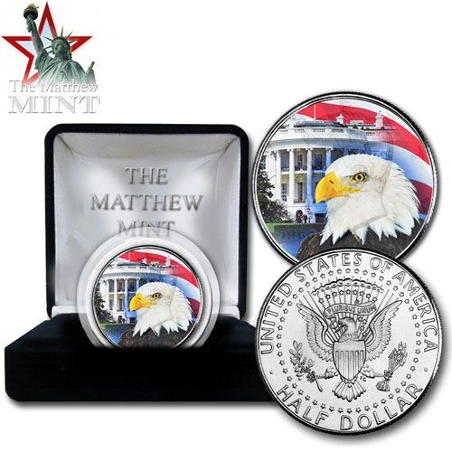'JKF White House Eagle'