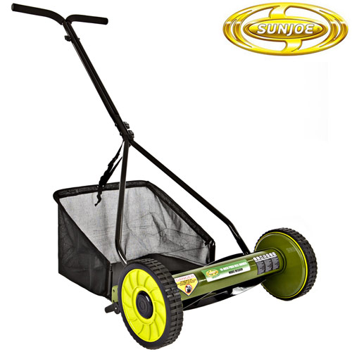'Sun Joe Reel Mower'