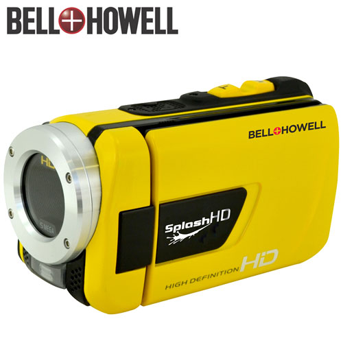 SplashHD Waterproof HD Camcorder... Digital Camera