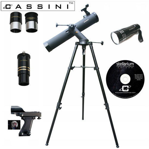 'Tracker Reflector Telescope + Red Light Kit - 800 x 80'