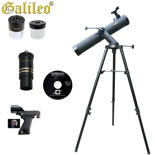 'Tracker Astronomical Reflector Telescope Kit - 800 x 80'