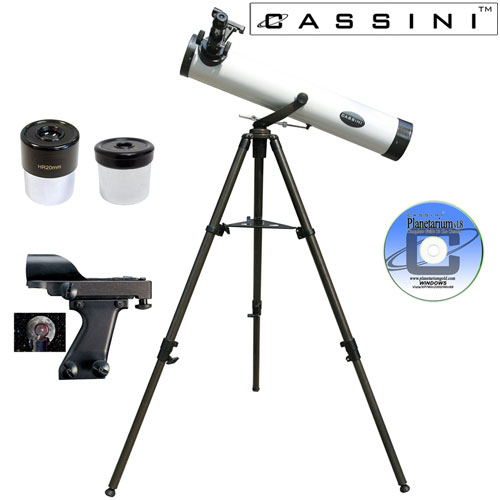 'Astronomonical Reflector Telescope Kit - 800 x 80'