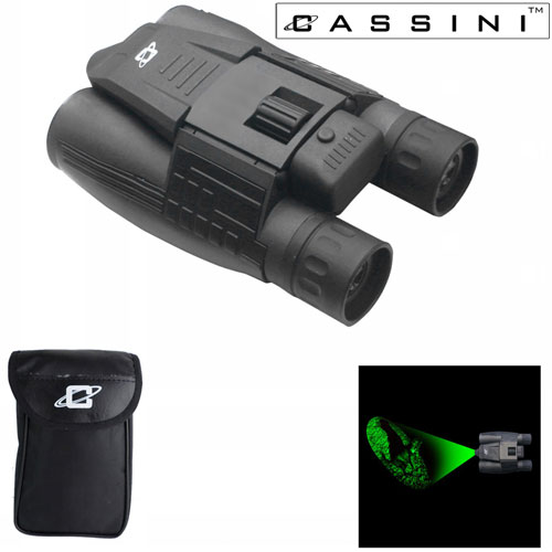 Day/Night Green Laser Binocular - 8 x 32