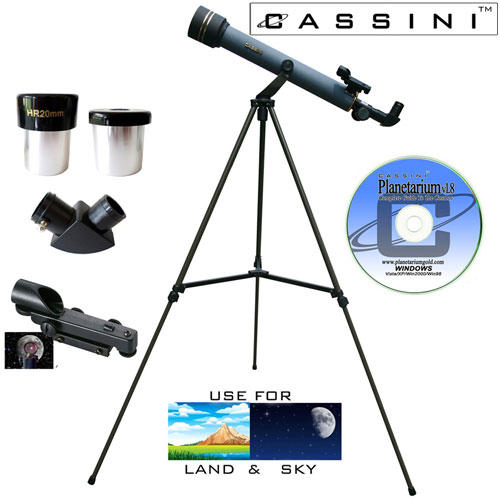 Refractor Telescope Kit - 600 x 50