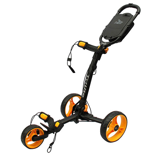 Black/OrangeTriLite 3-Wheel Push Cart