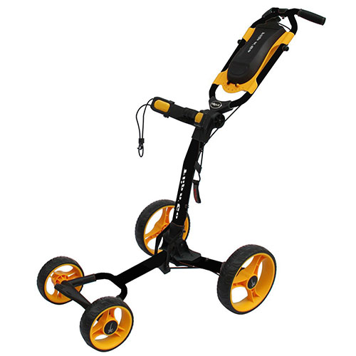 Black/Orange Flip-N-Go 4-Wheel Golf Cart