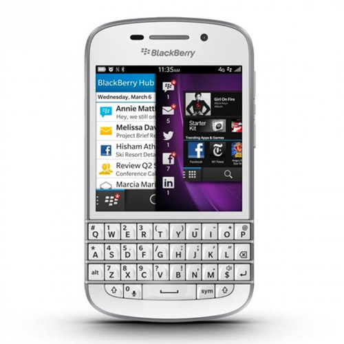 Blackberry Q10 White 16GB GSM Unlocked Phone