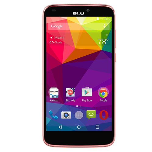 Blu Studio G Plus S510Q GSM Phone - Pink