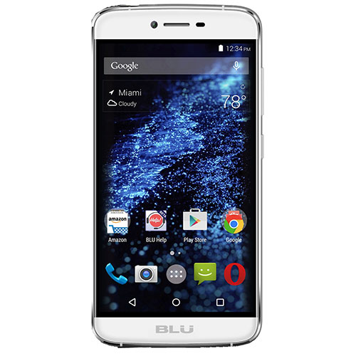 'Blu Studio One S0110UU Unlocked GSM Phone - White'