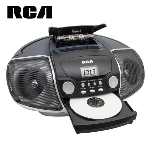 'RCA Portable CD/Casette Player'