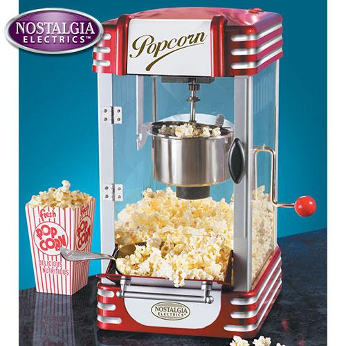 Nostalgia Kettle Popcorn Popper