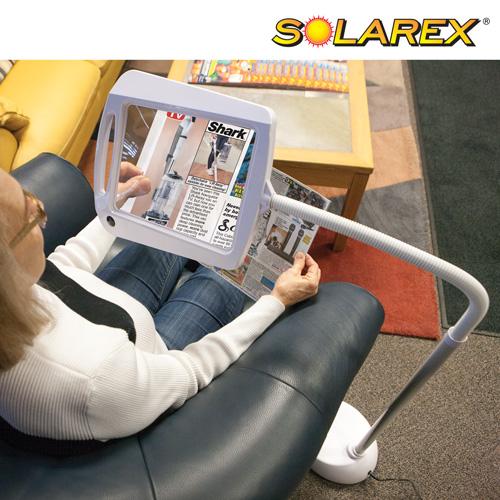 'Solarex 5X Magnifier Lamp'