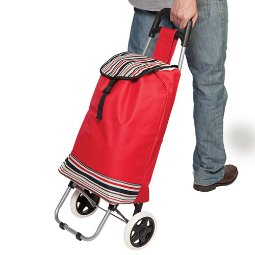 'Red Trolley Bag'