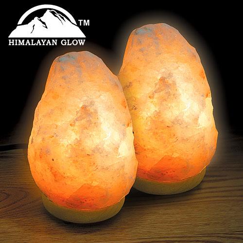 Crystal Salt Lamp - Set of 2