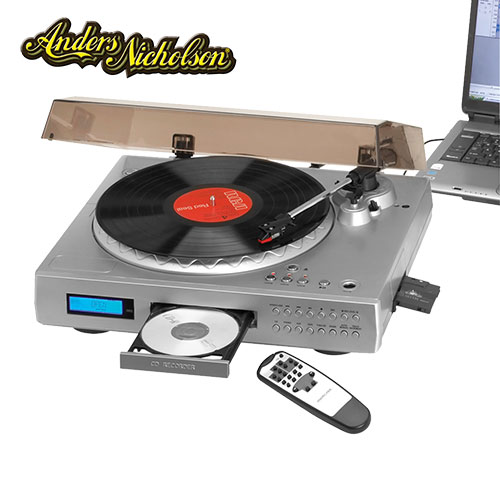 'USB Turntable With CD Burner'