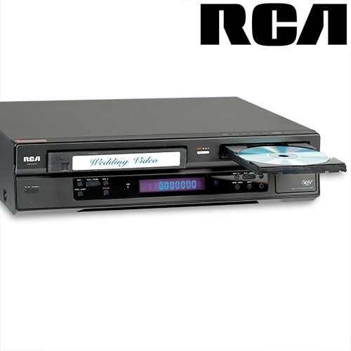 RCA DVD Recorder/ VCR With Tuner