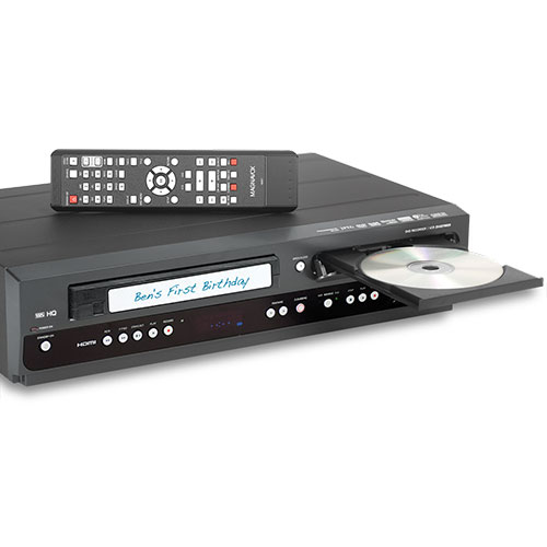 DVD Recorder/ VCR With Up-Conversion