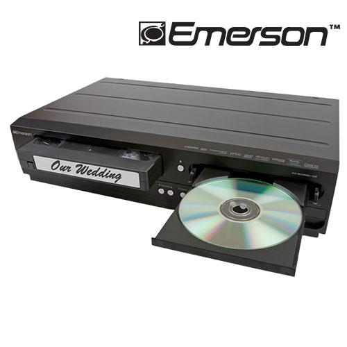'Emerson DVD Recorder/VCR'