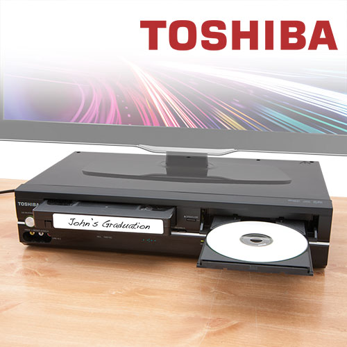 Toshiba Combo - DVD/VCR