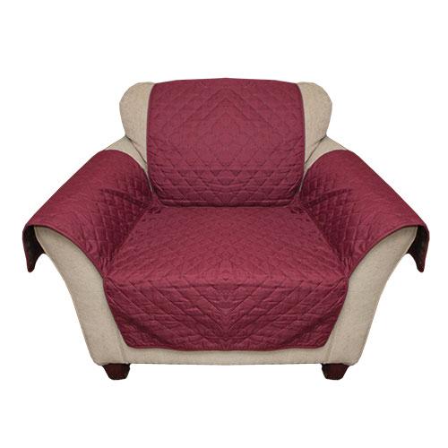 'Burgundy Reverse Chair Cover'