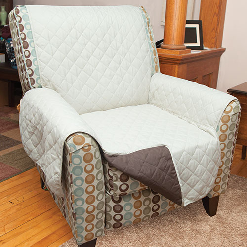 Reversible Chair Cover - Tan
