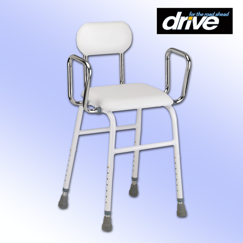 'All Purpose Stool with Adjustable Arms'