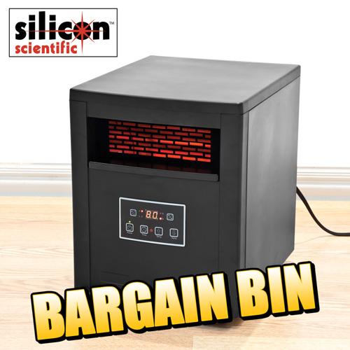 'Deluxe Infrared Quartz Heater'
